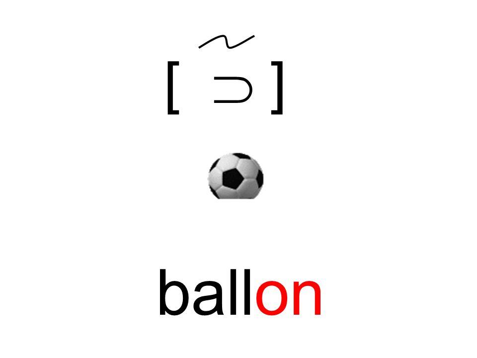 [  ] ballon